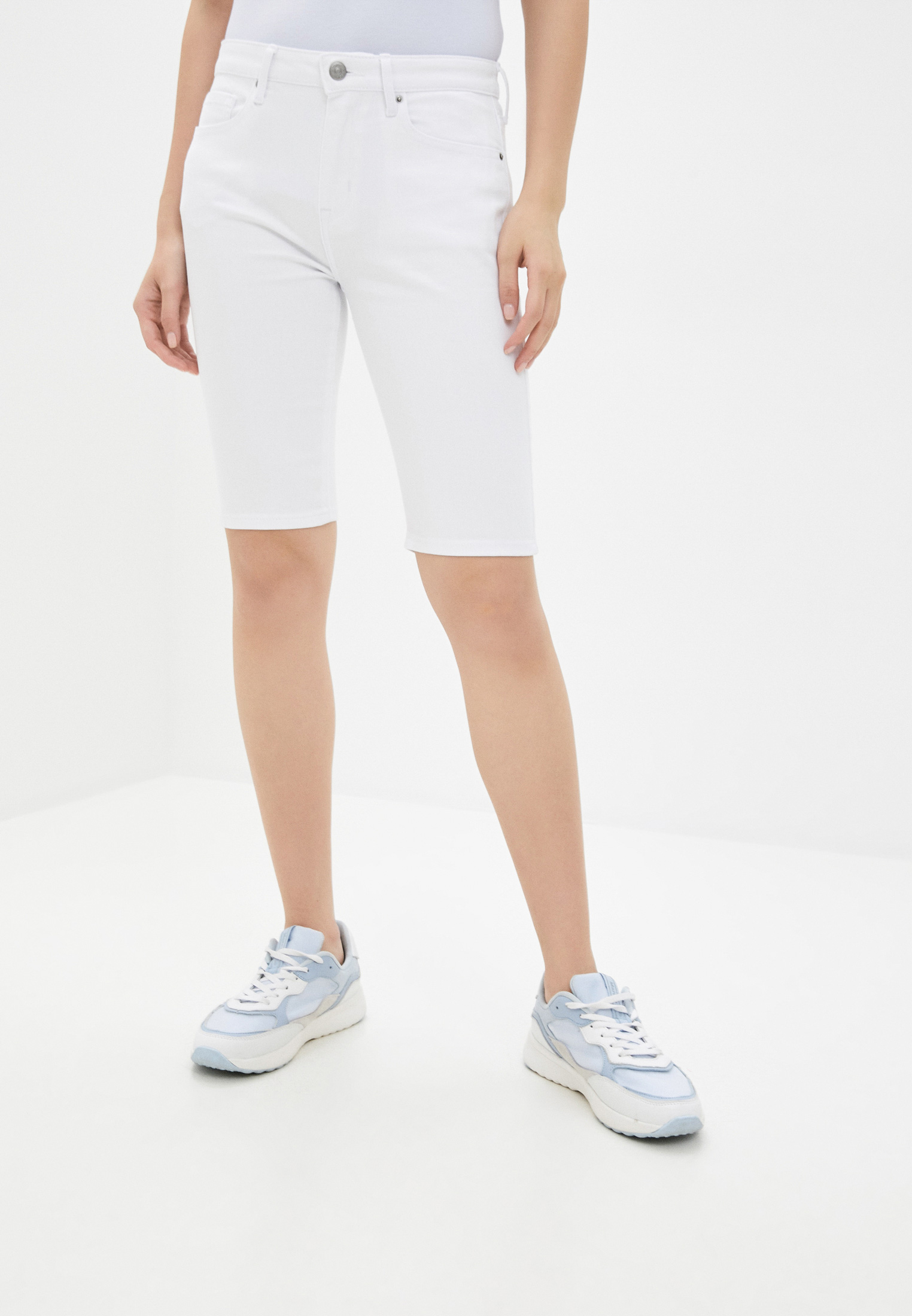 Женские джинсовые шорты Tommy Hilfiger (Томми Хилфигер) WW0WW28412
