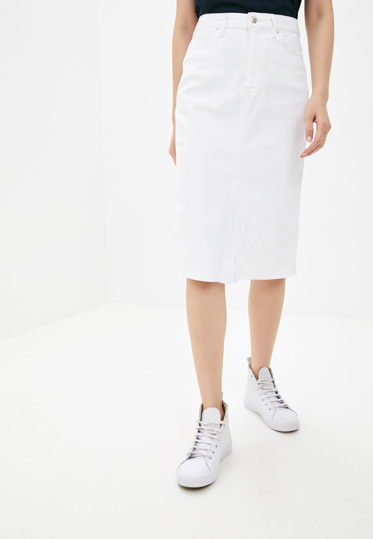 Джинсовая юбка Tommy Hilfiger (Томми Хилфигер) WW0WW28084