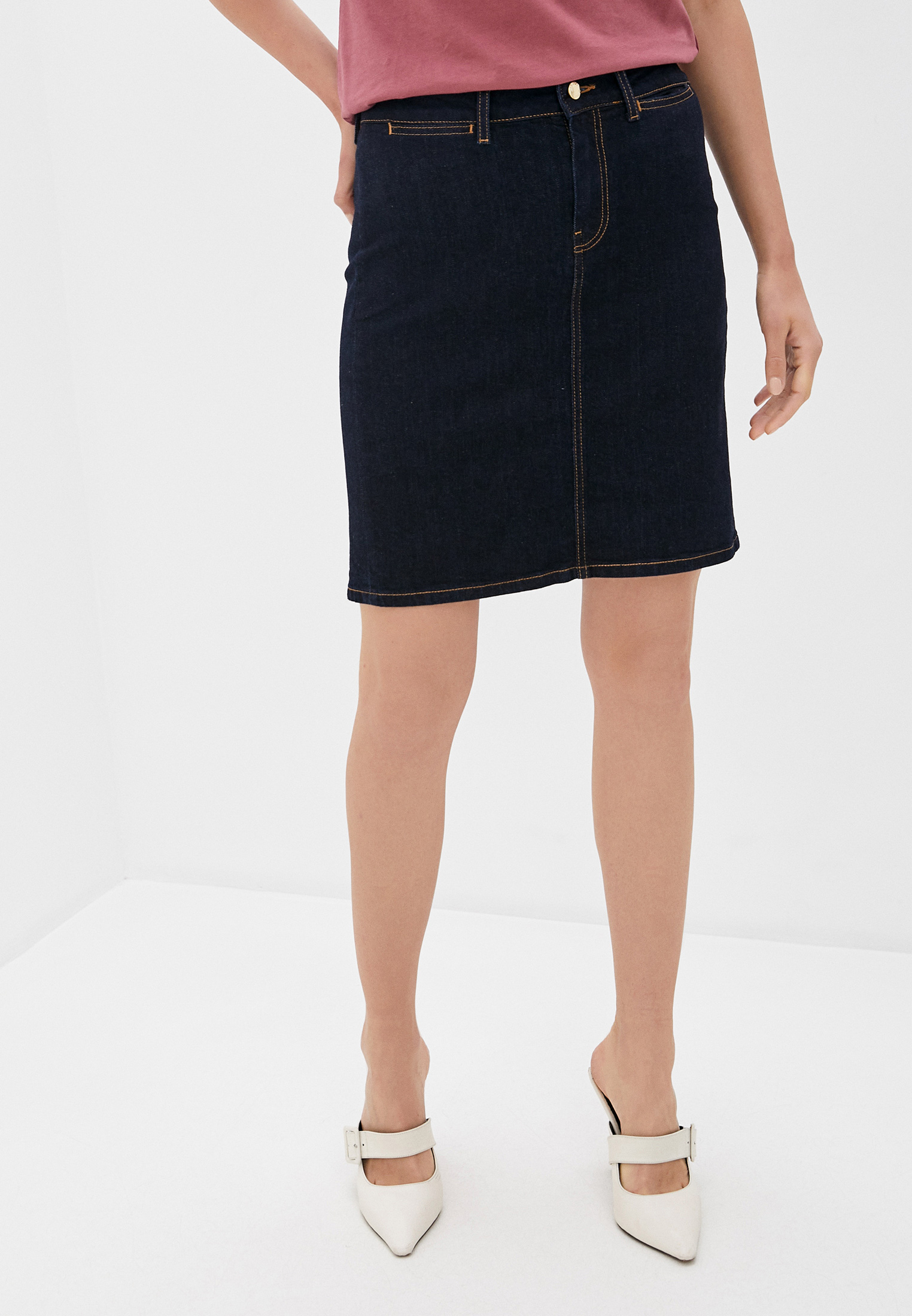 Джинсовая юбка Tommy Hilfiger (Томми Хилфигер) WW0WW28086