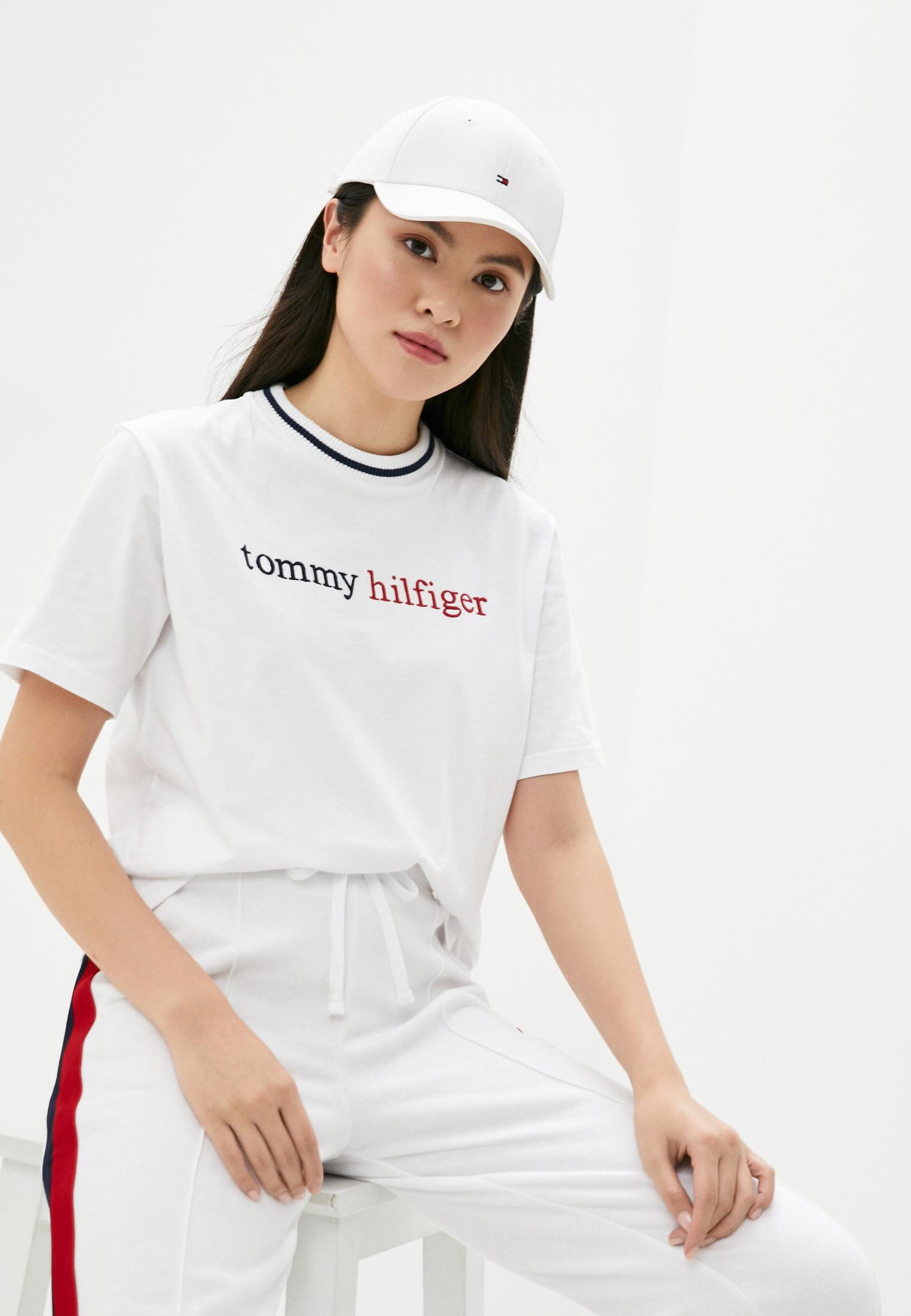 Домашняя футболка Tommy Hilfiger (Томми Хилфигер) UW0UW02265