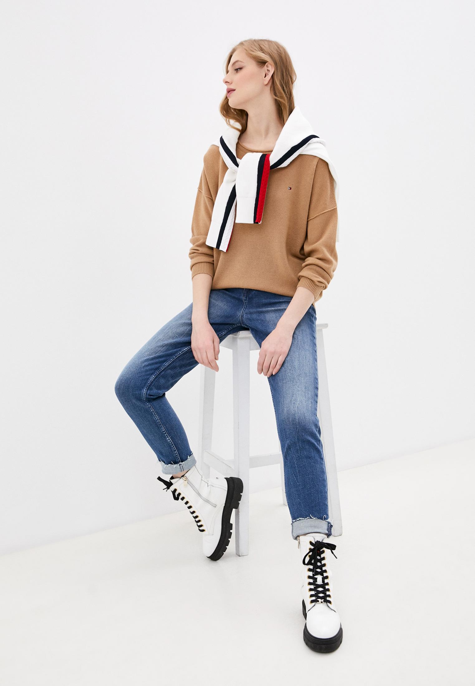 Зауженные джинсы Tommy Hilfiger (Томми Хилфигер) WW0WW29328: изображение 2