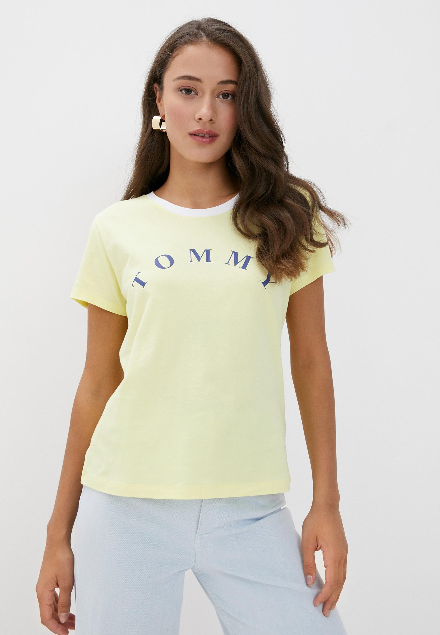 Домашняя футболка Tommy Hilfiger (Томми Хилфигер) UW0UW01905