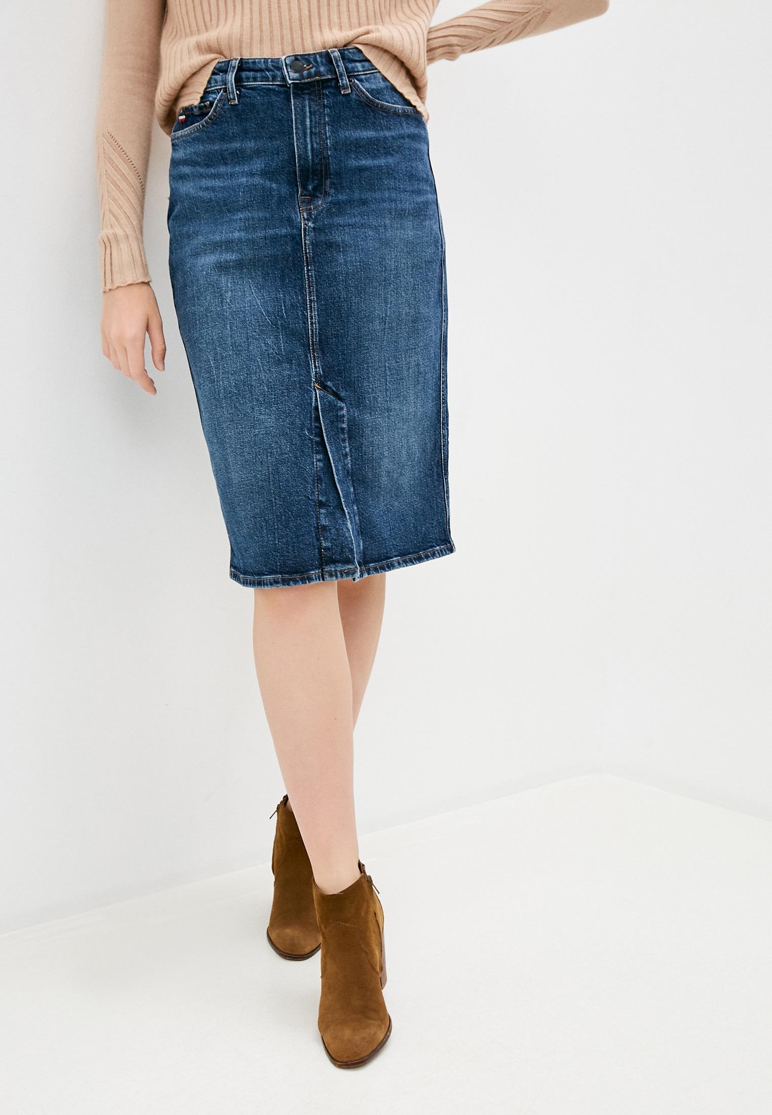 Джинсовая юбка Tommy Hilfiger (Томми Хилфигер) WW0WW28541