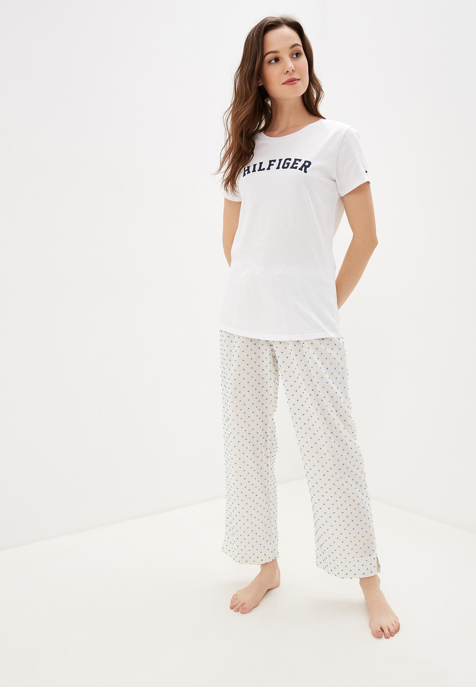 Домашняя футболка Tommy Hilfiger (Томми Хилфигер) UW0UW00091