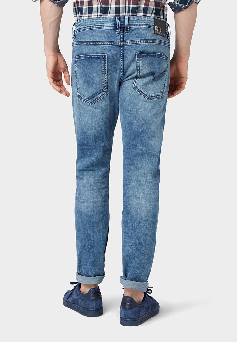 Зауженные джинсы Tom Tailor Denim 1008446: изображение 12