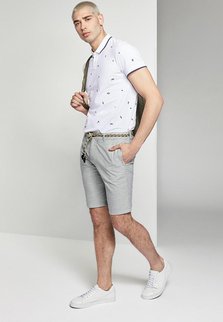 Мужские повседневные шорты Tom Tailor Denim 1016962: изображение 2