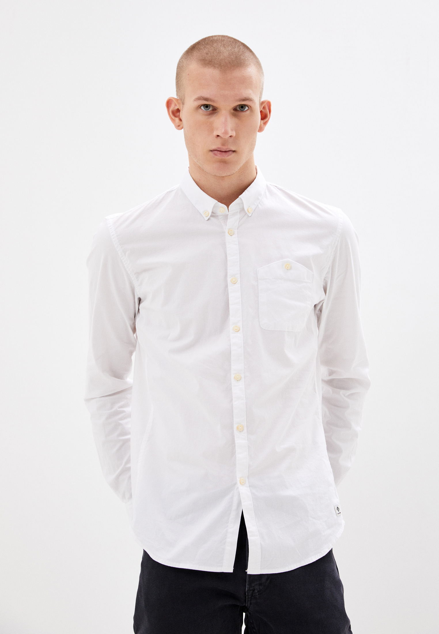 Рубашка с длинным рукавом Tom Tailor Denim 1020189: изображение 1