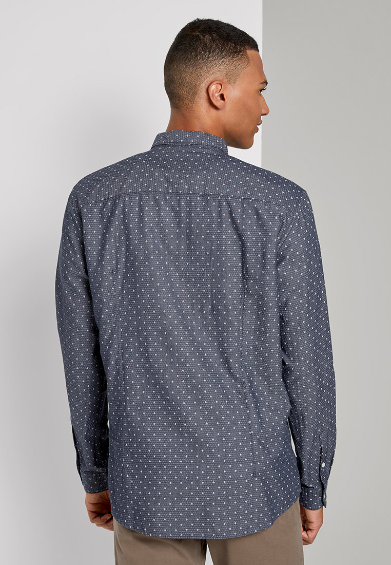 Рубашка с длинным рукавом Tom Tailor Denim 1020174: изображение 3
