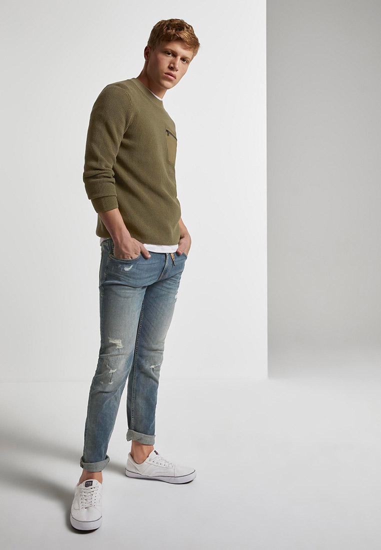 Зауженные джинсы Tom Tailor Denim 1020493: изображение 2