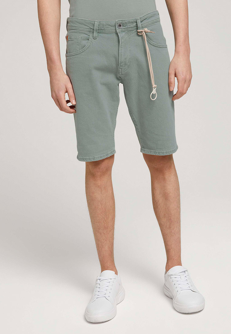 Мужские джинсовые шорты Tom Tailor Denim Шорты джинсовые Tom Tailor Denim