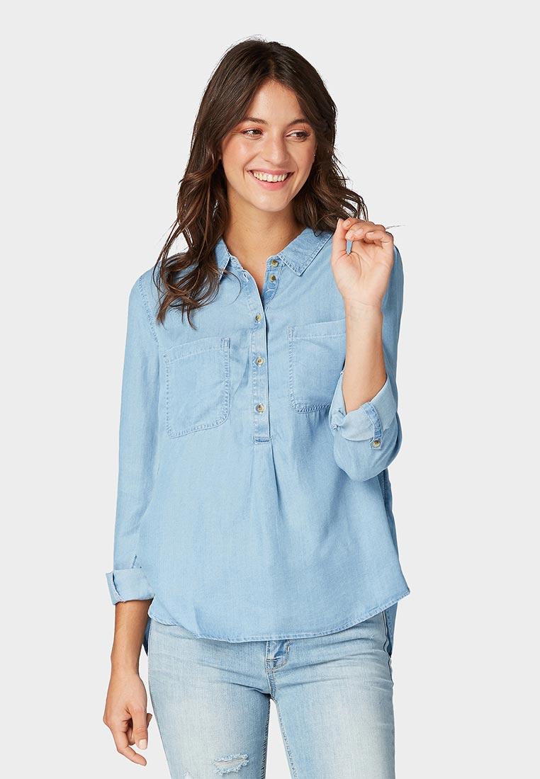 Женские джинсовые рубашки Tom Tailor Denim 2055666.09.71