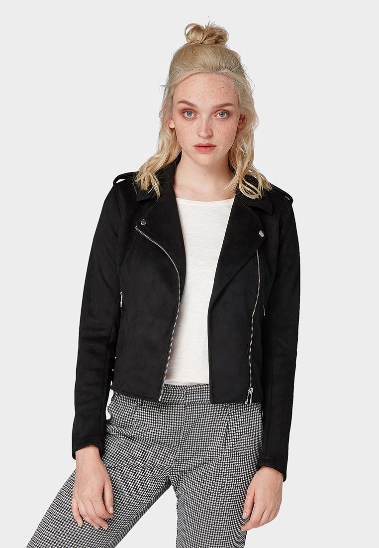 Кожаная куртка Tom Tailor Denim 1007623