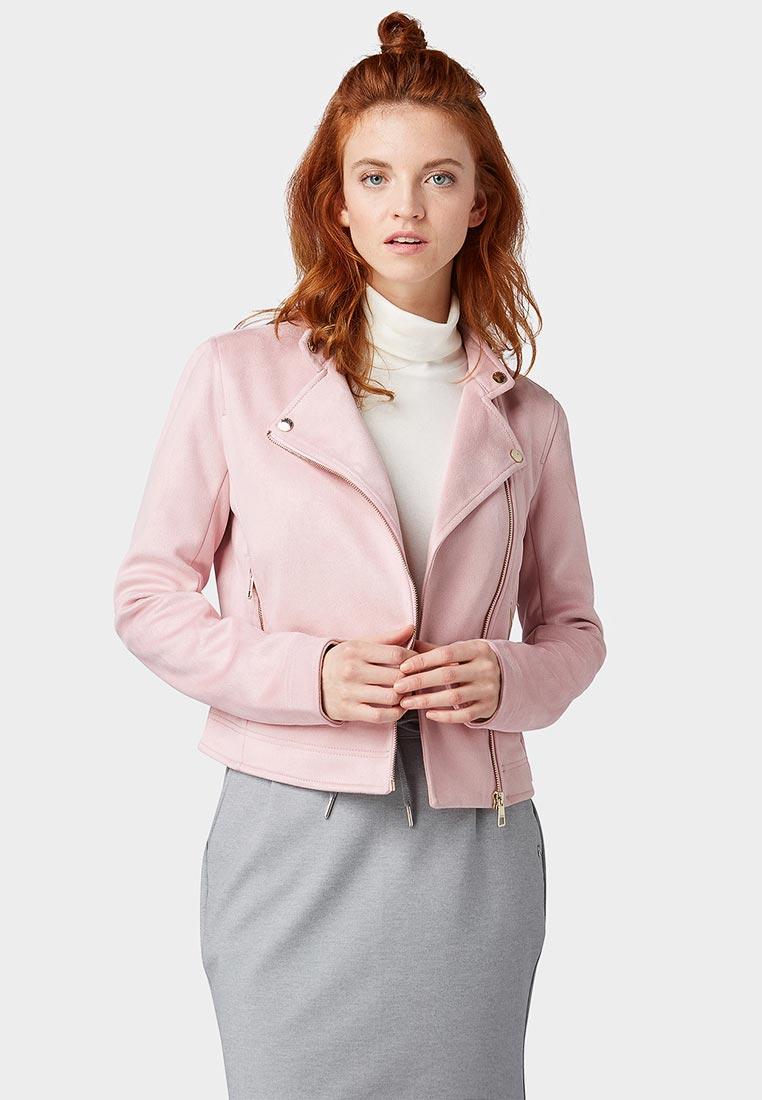 Кожаная куртка Tom Tailor Denim 1008010