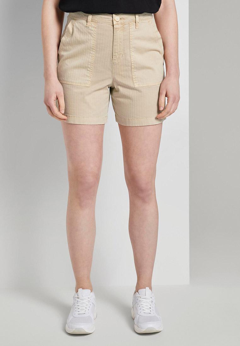 Женские повседневные шорты Tom Tailor Denim 1018318: изображение 1