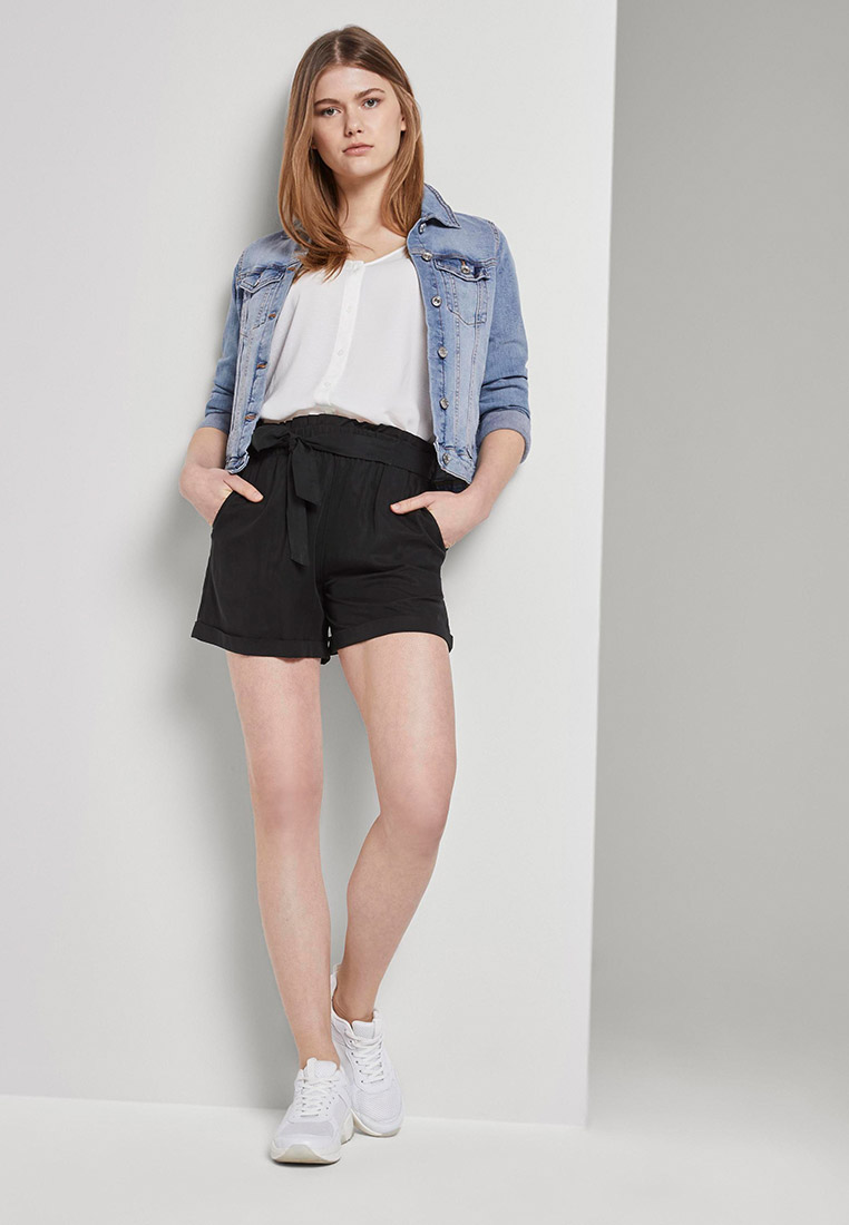 Женские повседневные шорты Tom Tailor Denim 1017318: изображение 2