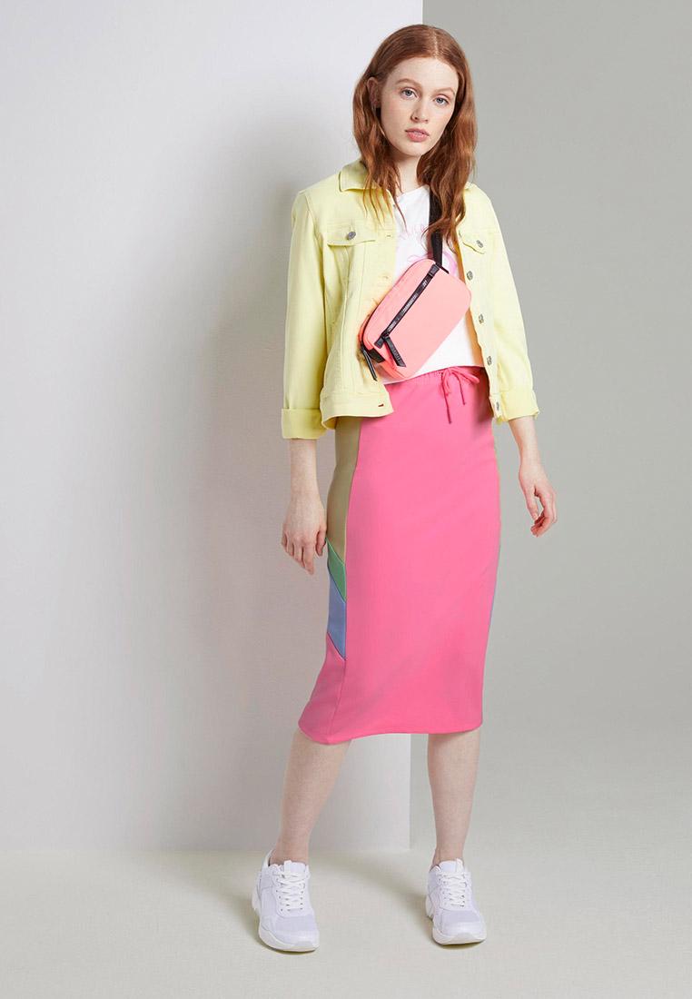 Прямая юбка Tom Tailor Denim 1018114: изображение 2
