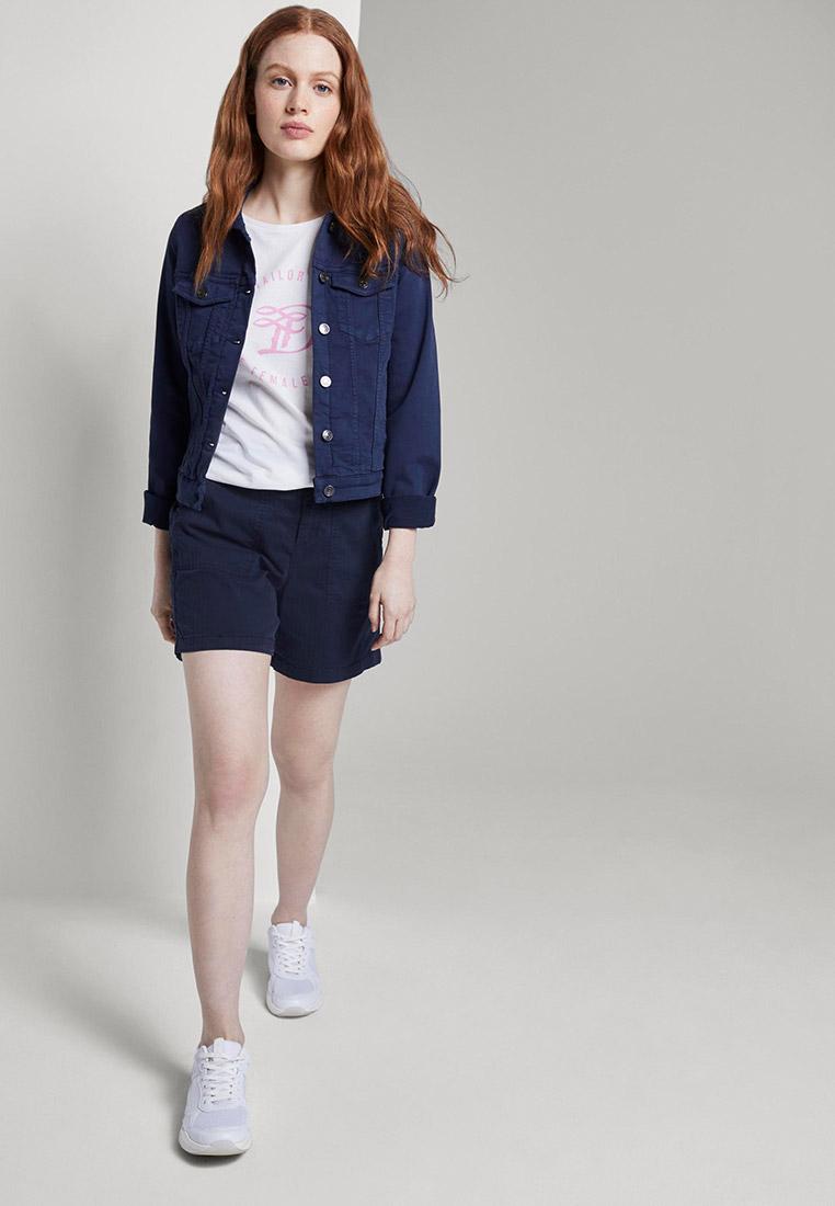 Женские повседневные шорты Tom Tailor Denim 1018318: изображение 2