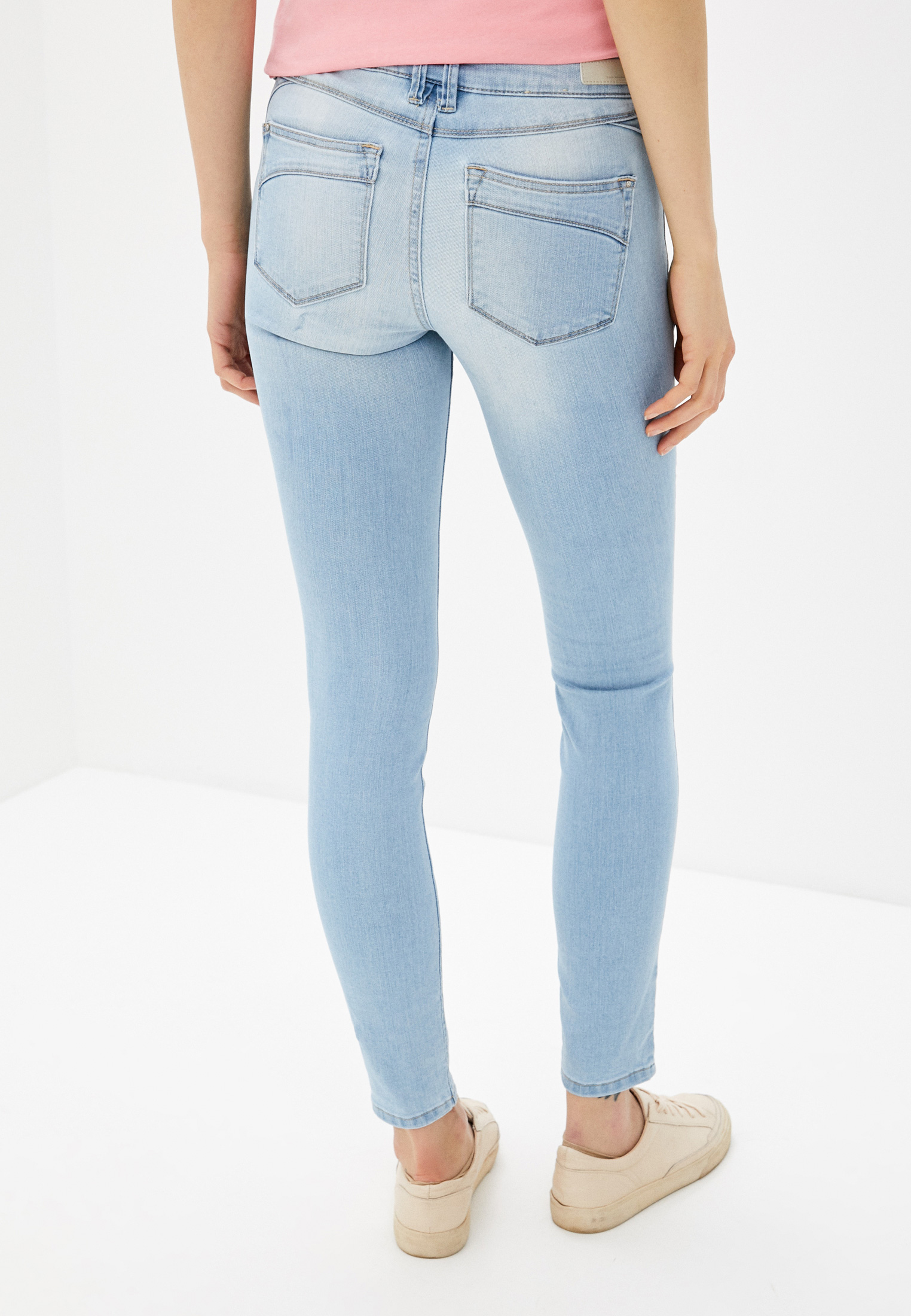 Зауженные джинсы Tom Tailor Denim 1017148: изображение 3