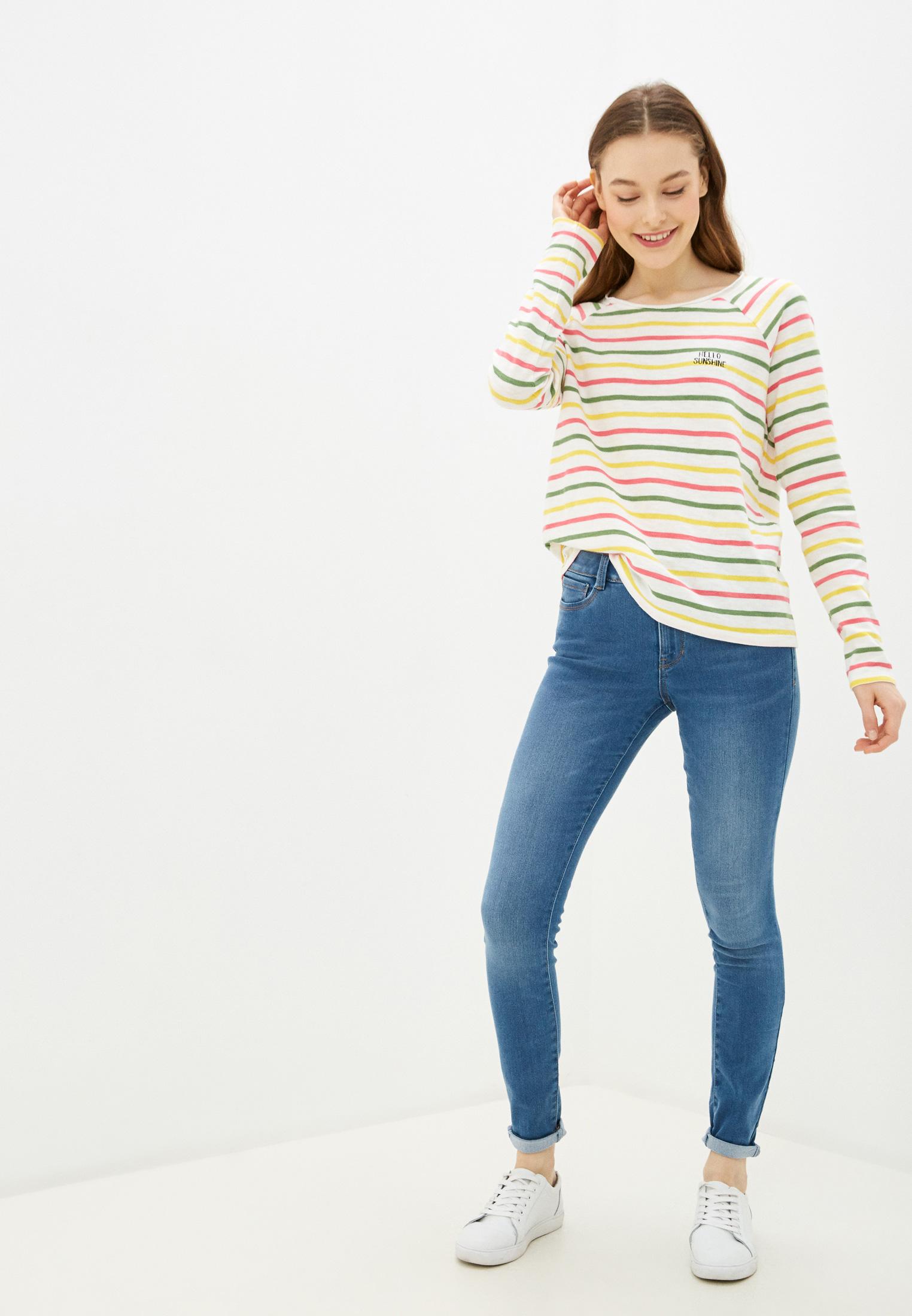Зауженные джинсы Tom Tailor Denim 1016456: изображение 2
