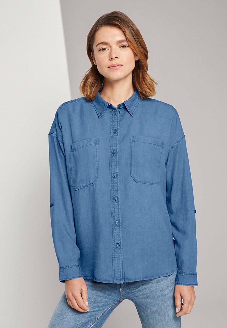 Женские джинсовые рубашки Tom Tailor Denim 1024141
