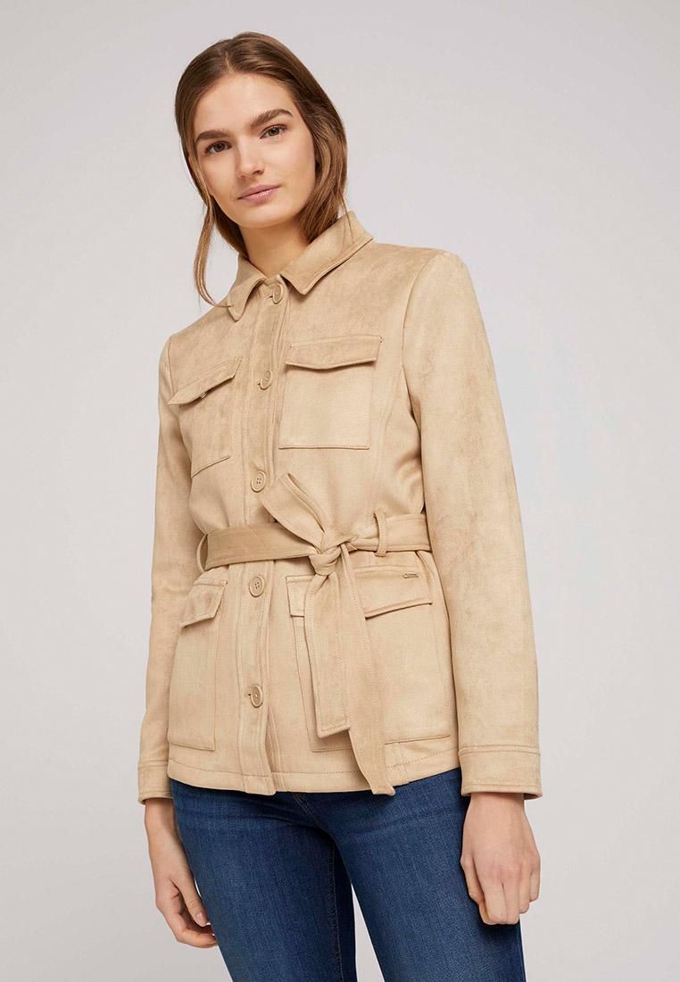 Кожаная куртка Tom Tailor Denim 1024554: изображение 1