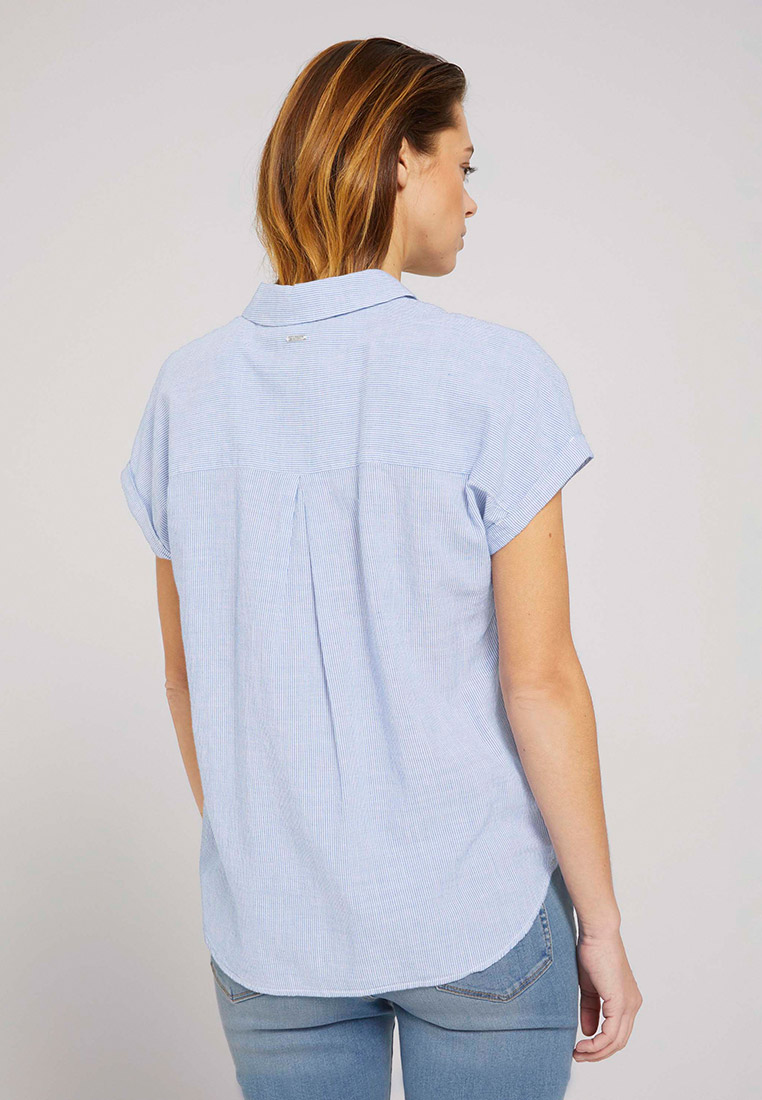 Рубашка с коротким рукавом Tom Tailor Denim 1025401: изображение 2