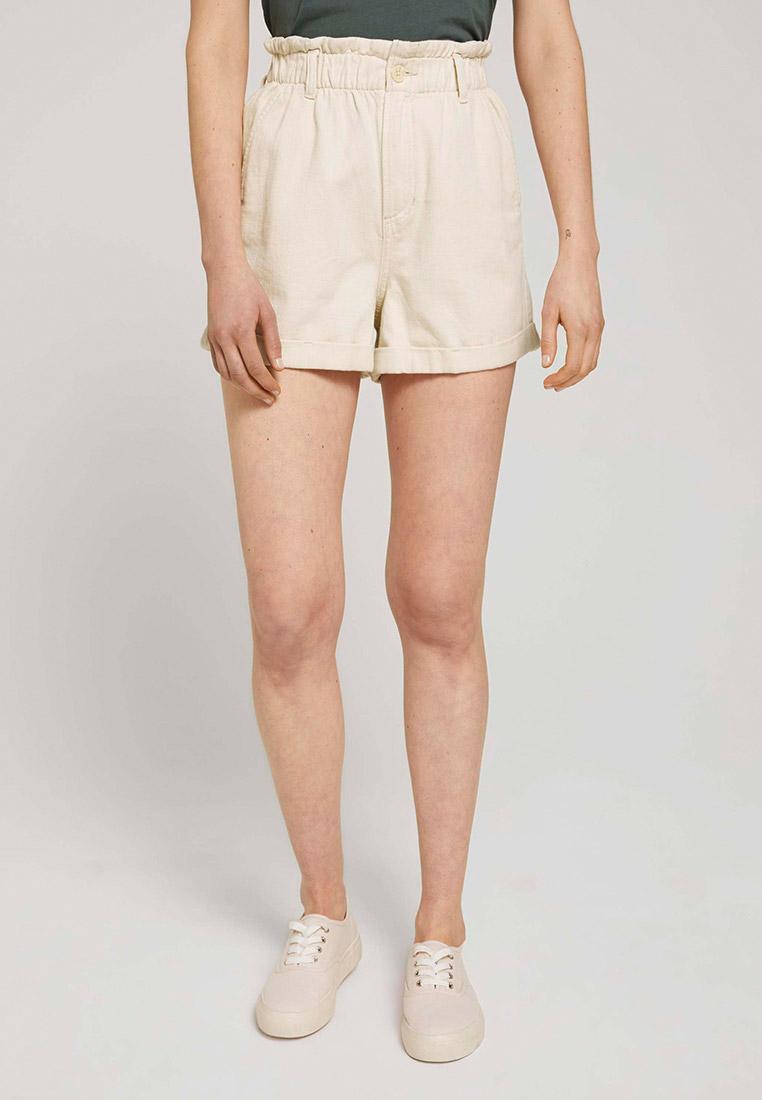 Женские повседневные шорты Tom Tailor Denim 1025238