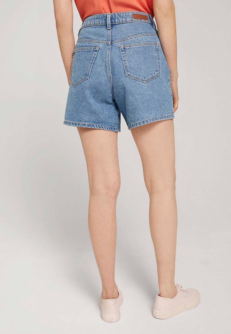 Женские джинсовые шорты Tom Tailor Denim 1025737: изображение 2