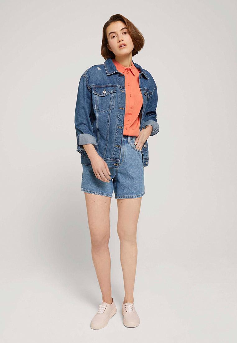 Женские джинсовые шорты Tom Tailor Denim 1025737: изображение 3