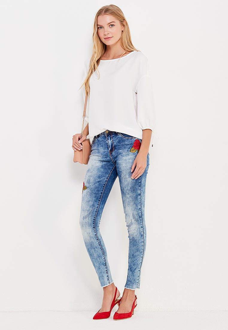 Зауженные джинсы Top Secret (Топ Сикрет) SSP2599NI: изображение 2