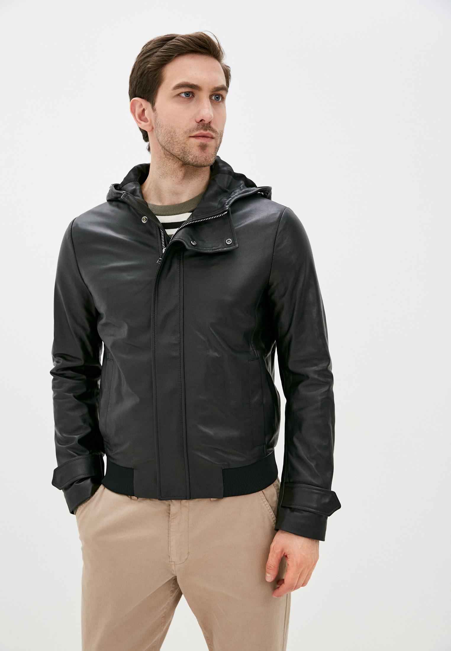 Кожаная куртка Trussardi (Труссарди) 32s00234