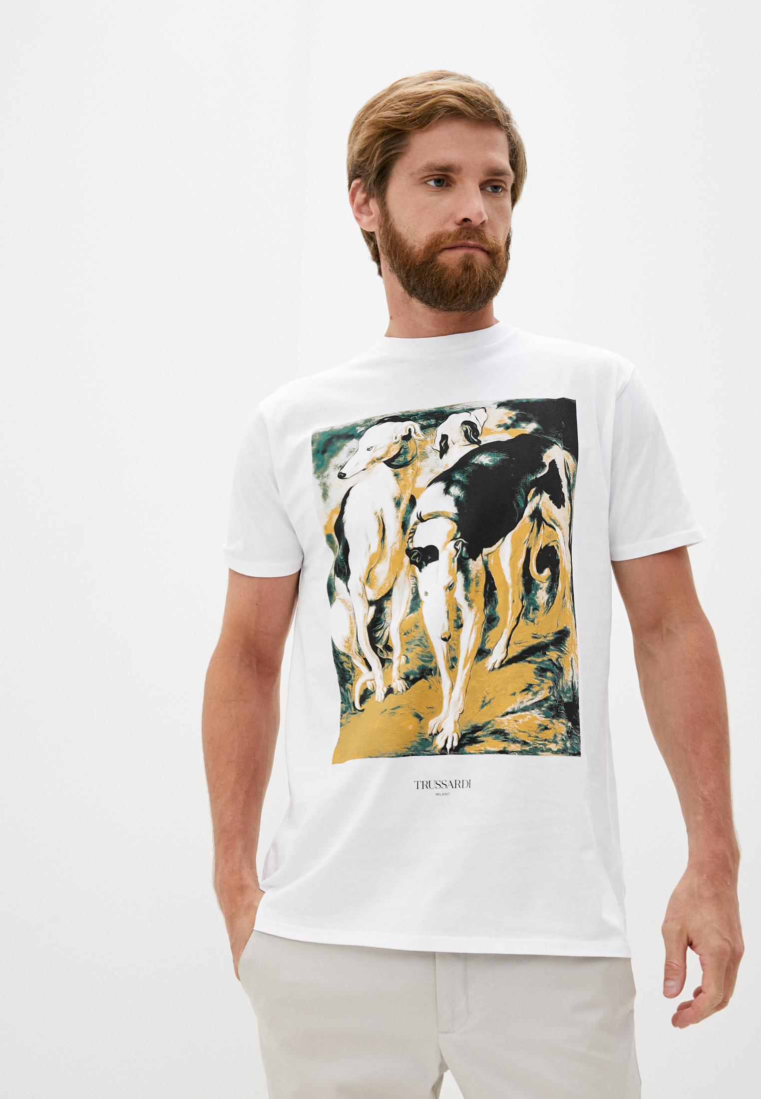 Мужская футболка Trussardi (Труссарди) 32T00181-1T004752
