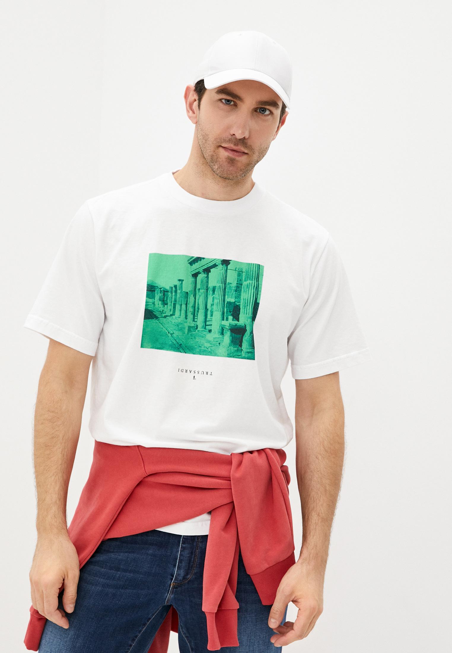 Мужская футболка Trussardi (Труссарди) 32T00213-1T005198