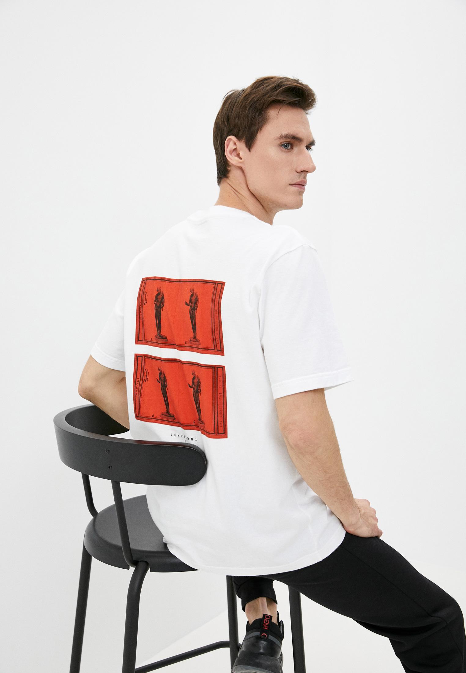 Мужская футболка Trussardi (Труссарди) 32T00215-1T005198
