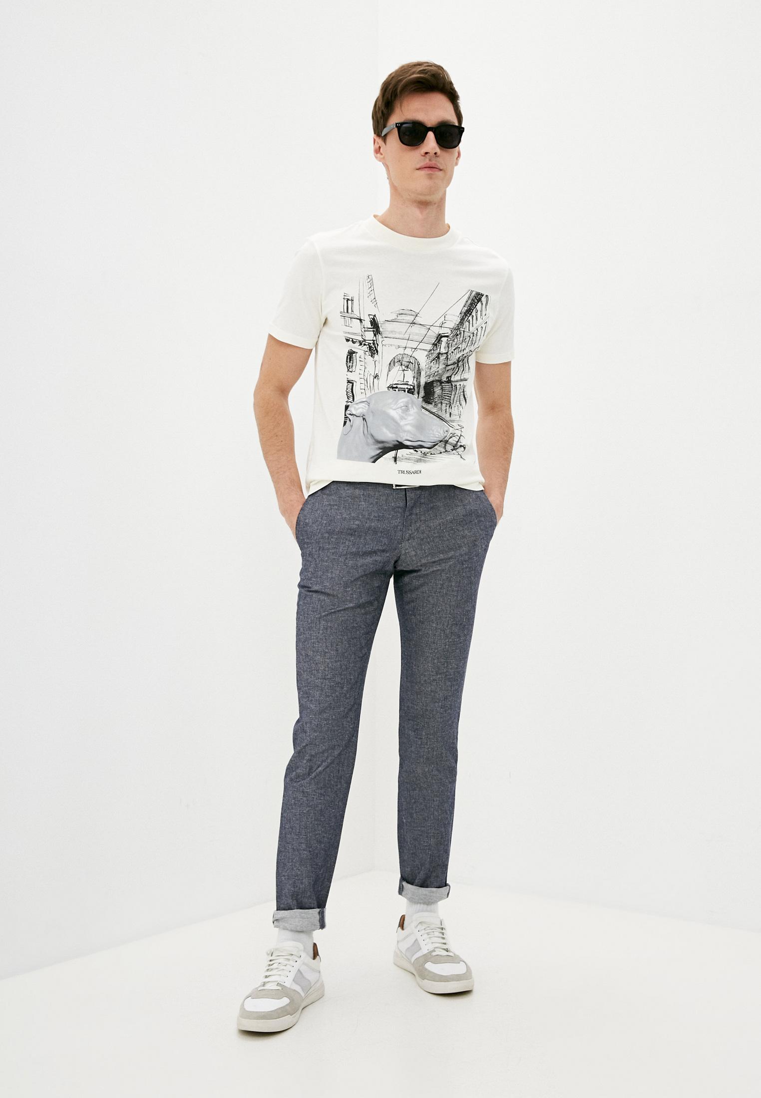 Мужские повседневные брюки Trussardi (Труссарди) 32P00120-1T002880: изображение 3