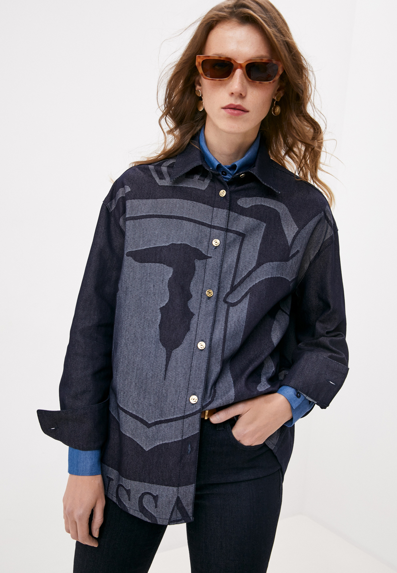 Рубашка Trussardi (Труссарди) 36C00129-1T004659