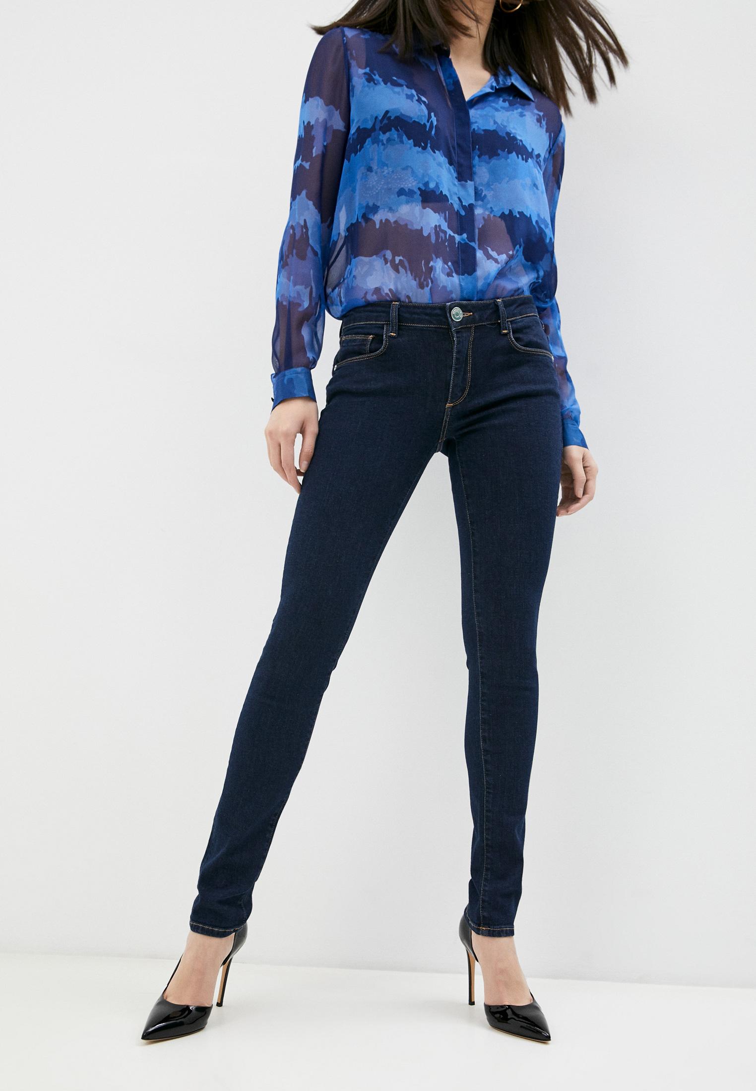 Зауженные джинсы Trussardi (Труссарди) 56J00001-1T002364-A-002