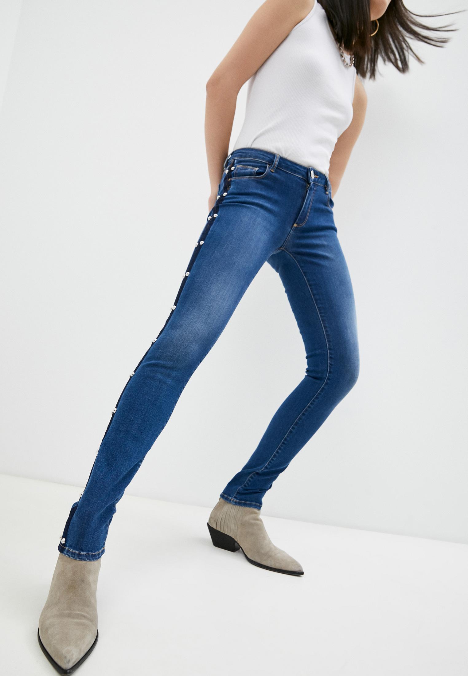 Зауженные джинсы Trussardi (Труссарди) 56J00001-1T002372-C-001