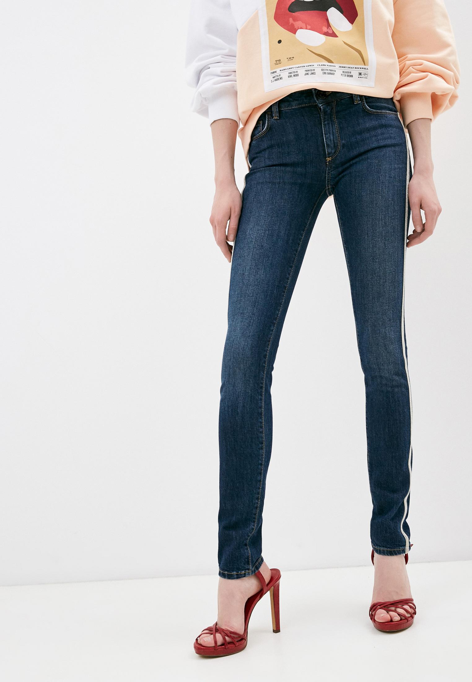 Зауженные джинсы Trussardi (Труссарди) 56J00001-1T003194-A-003