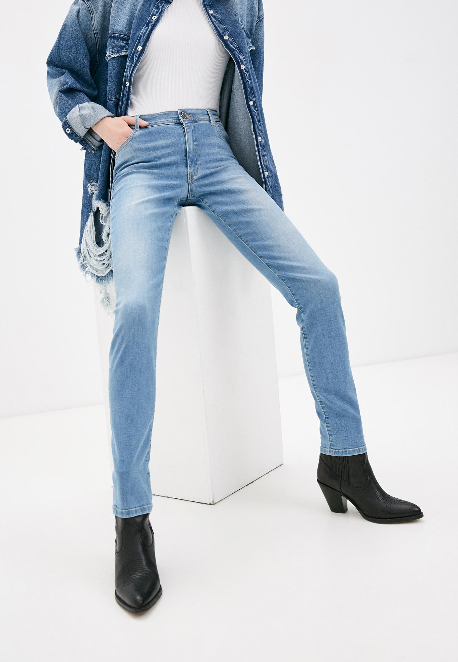 Зауженные джинсы Trussardi (Труссарди) 56J00005-1T002364-D-002