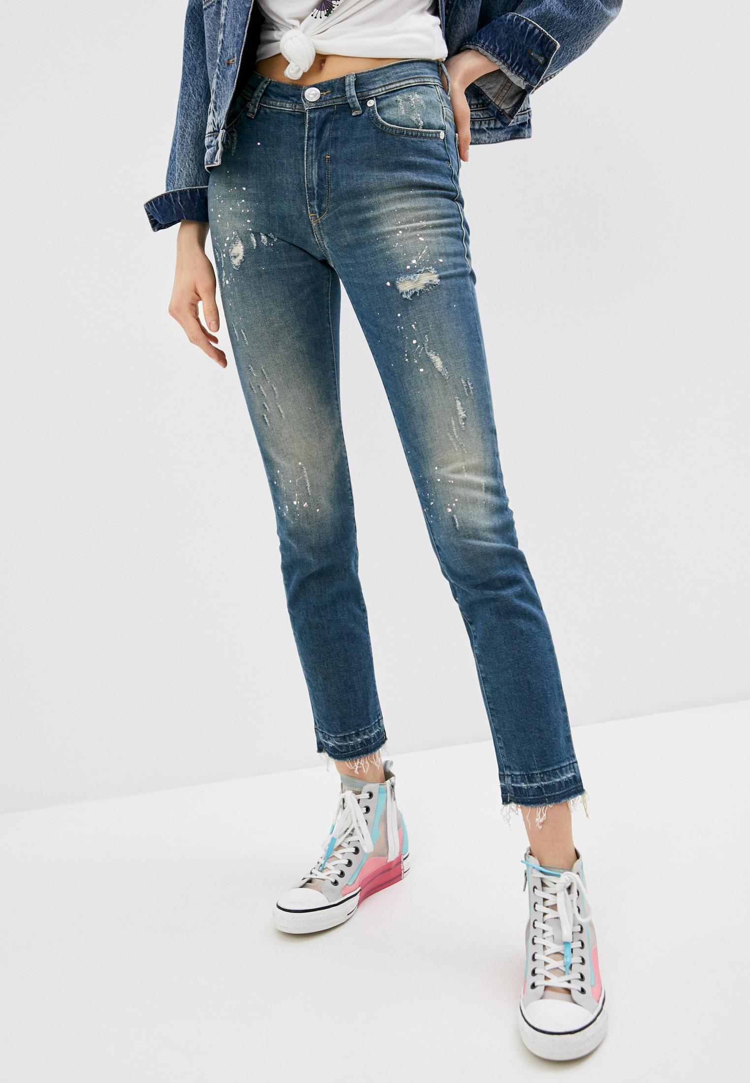 Прямые джинсы Trussardi (Труссарди) 56J00005-1T002420-D-019