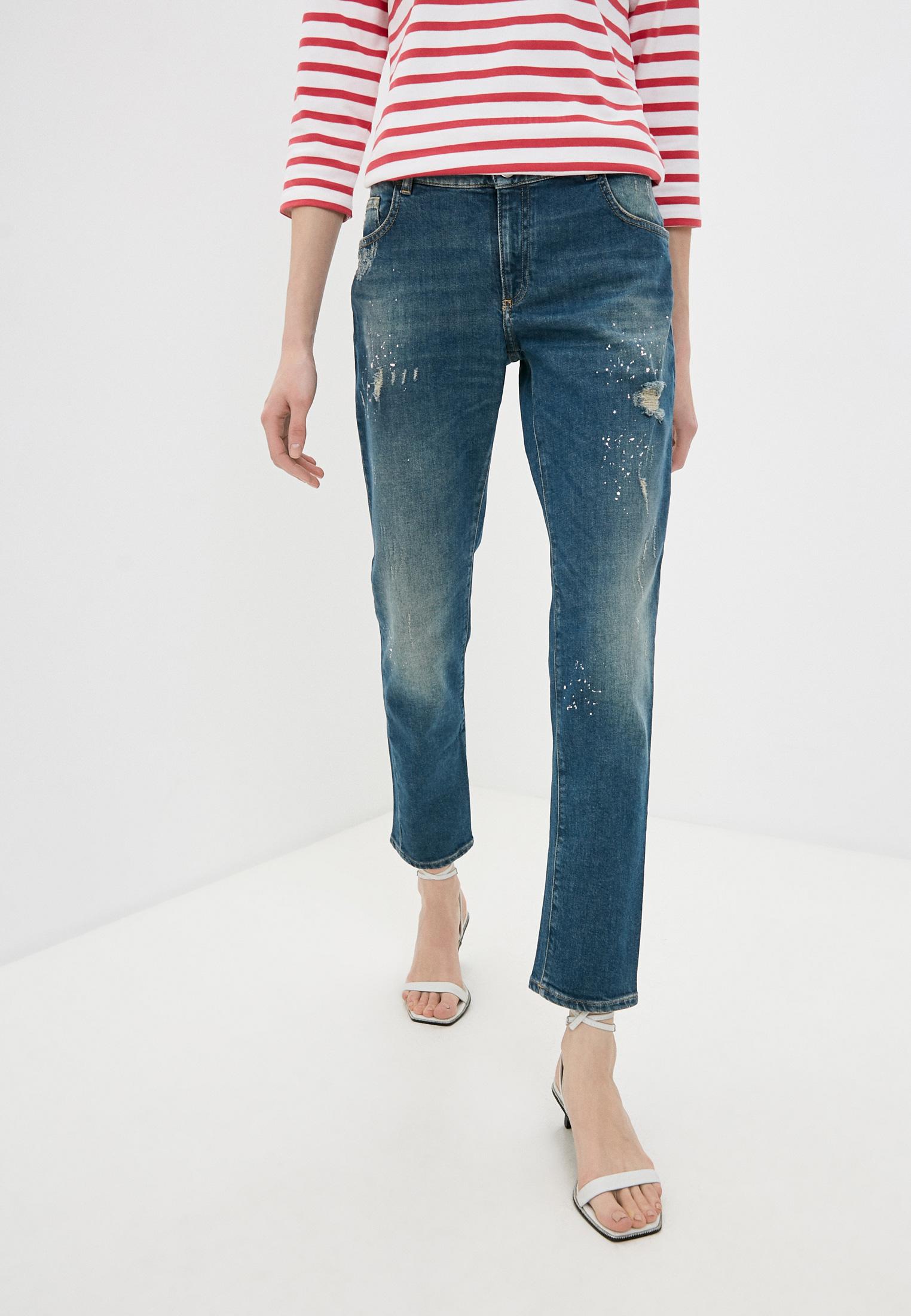Зауженные джинсы Trussardi (Труссарди) 56J00074-1T002420-D-019