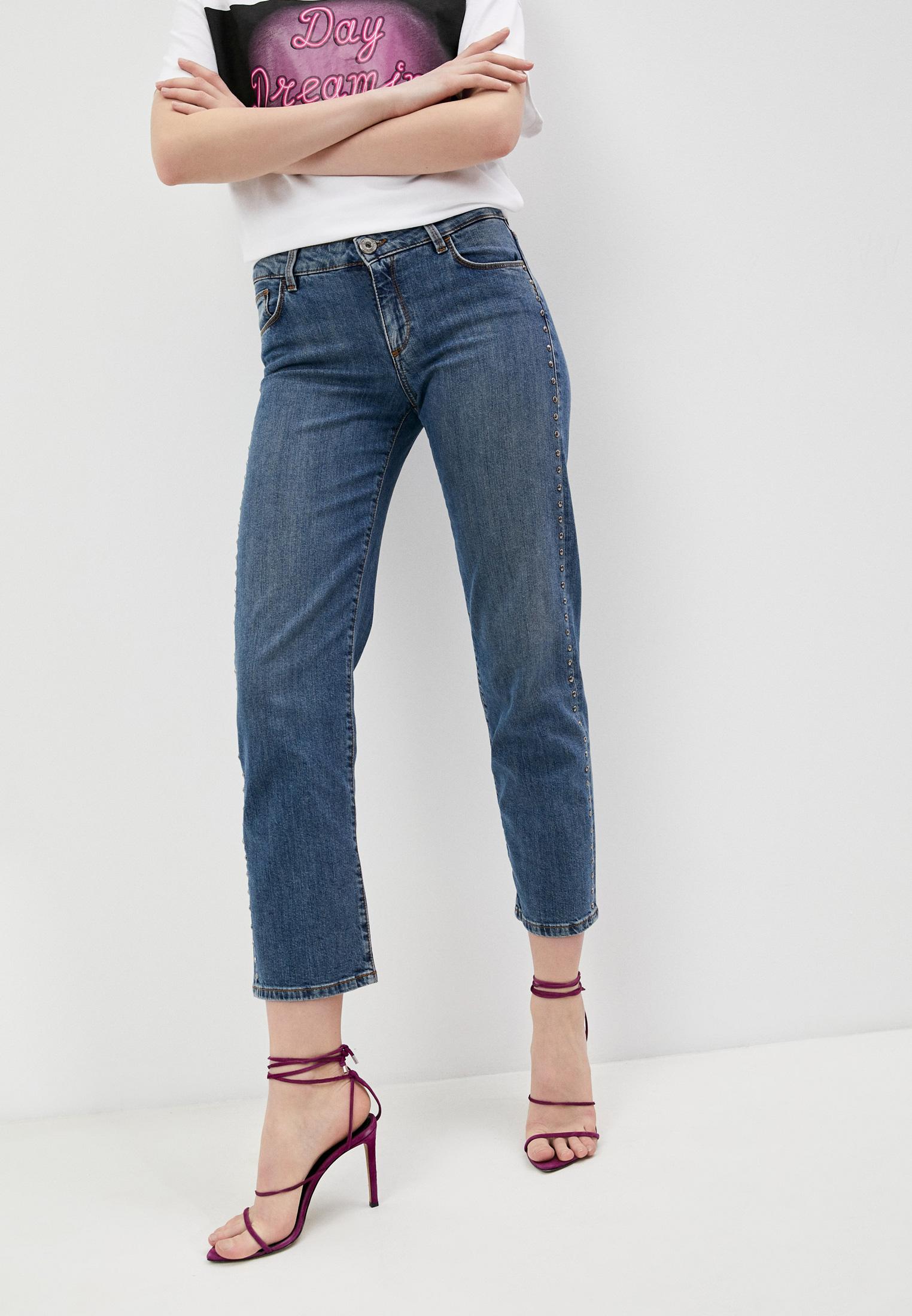 Прямые джинсы Trussardi (Труссарди) 56J00075-1T003194-D-023
