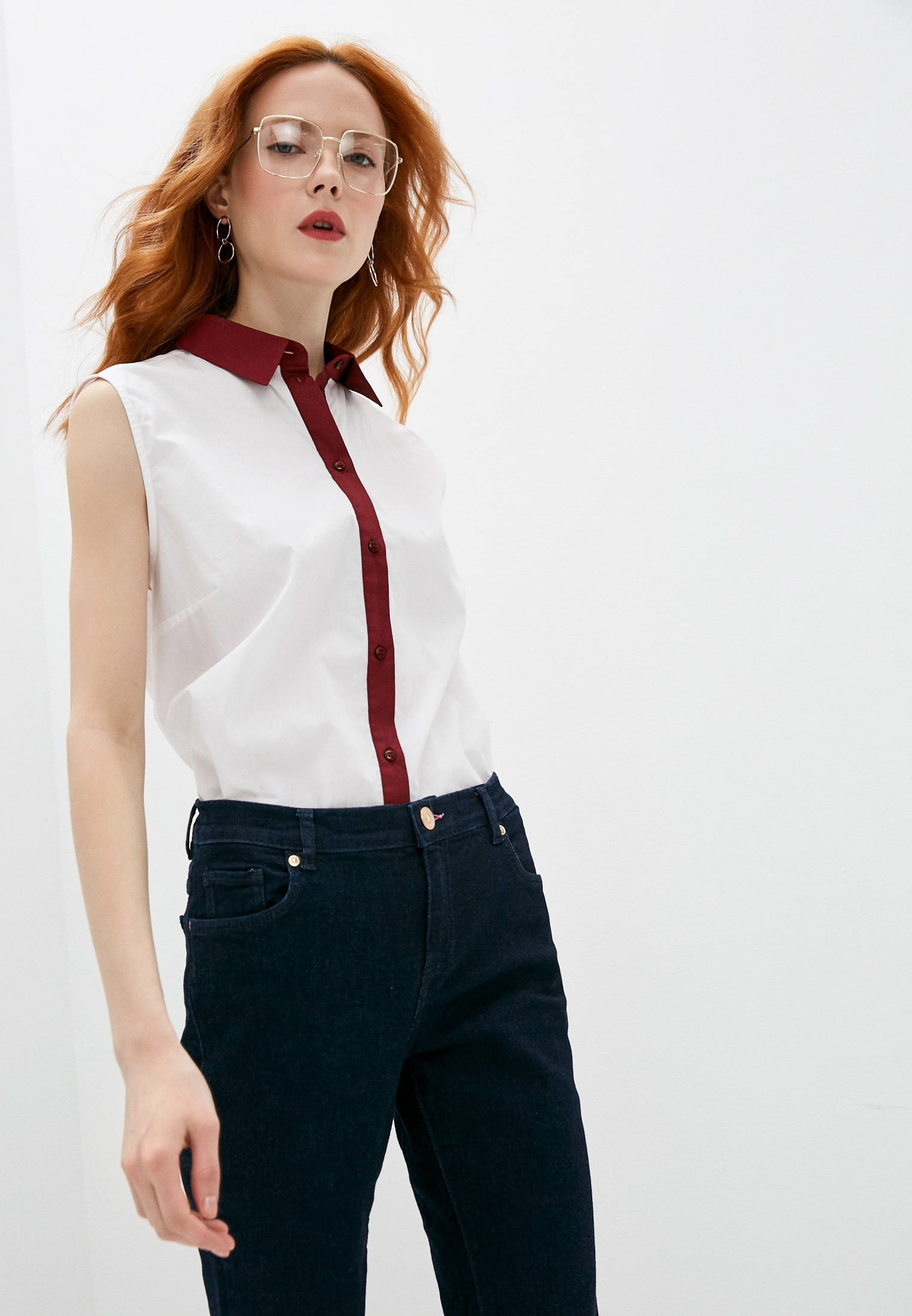 Блуза Trussardi (Труссарди) 56C00211-1T002391