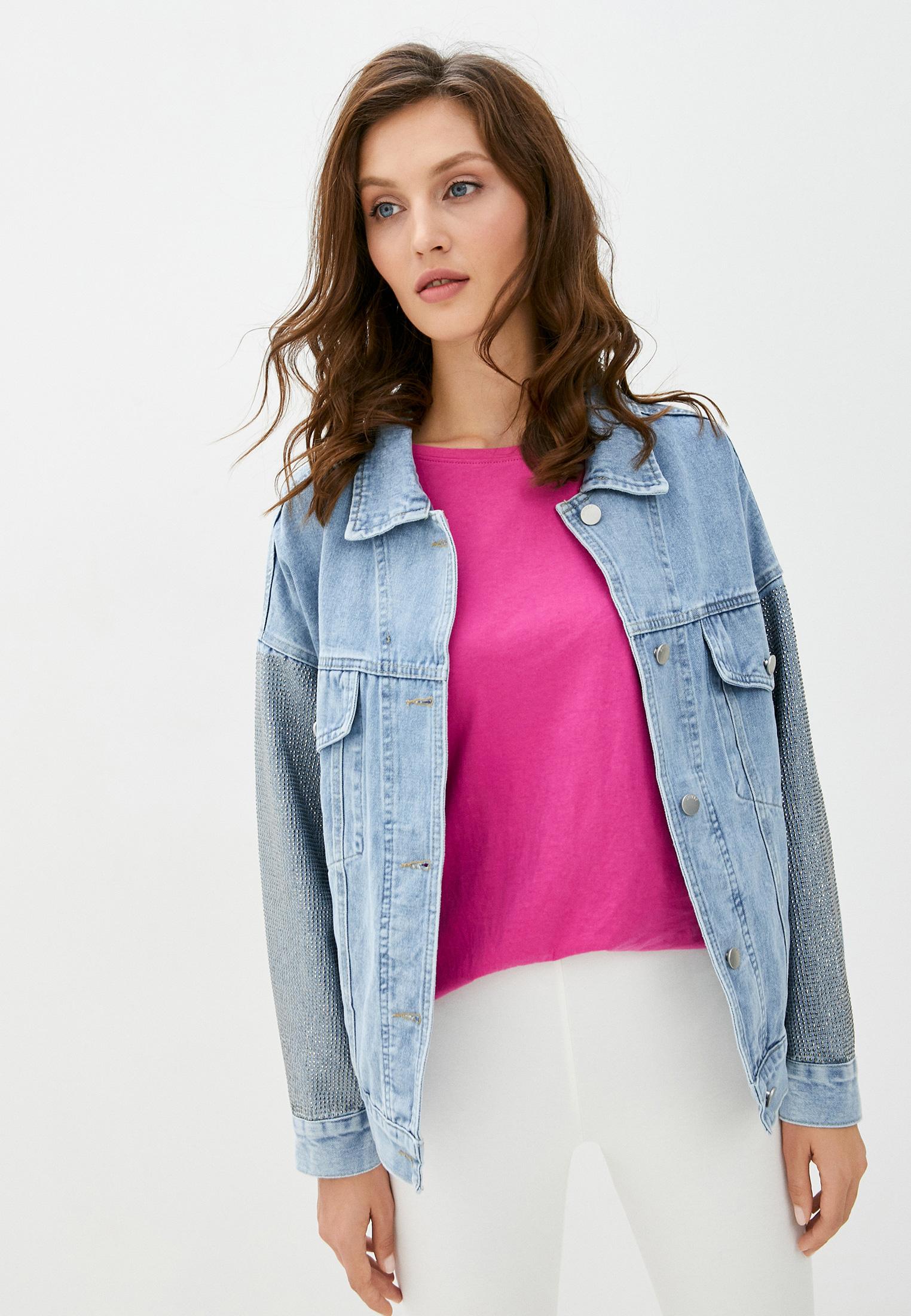 Джинсовая куртка TrendyAngel ТАO20O0019