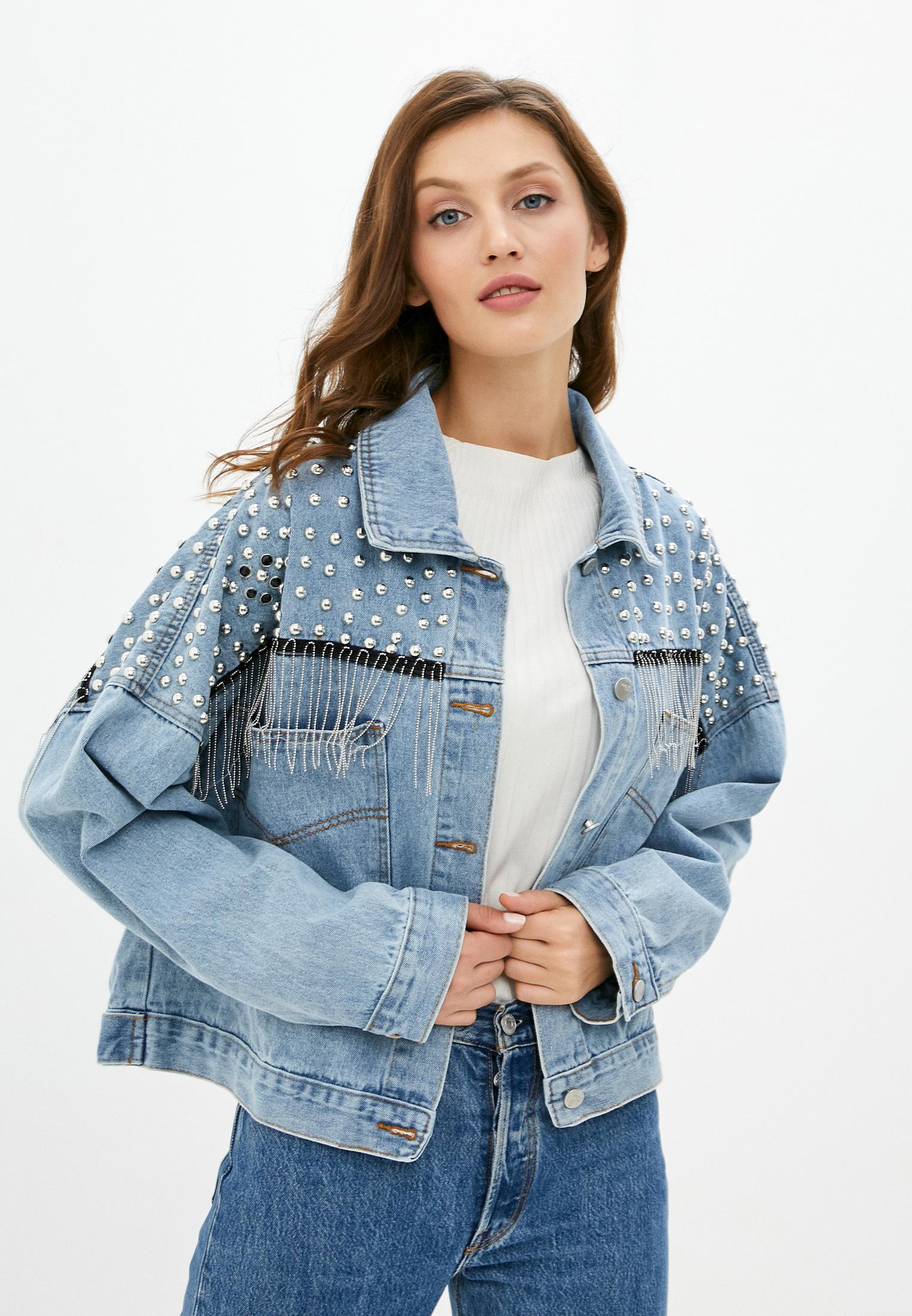 Джинсовая куртка TrendyAngel ТАO20O0020