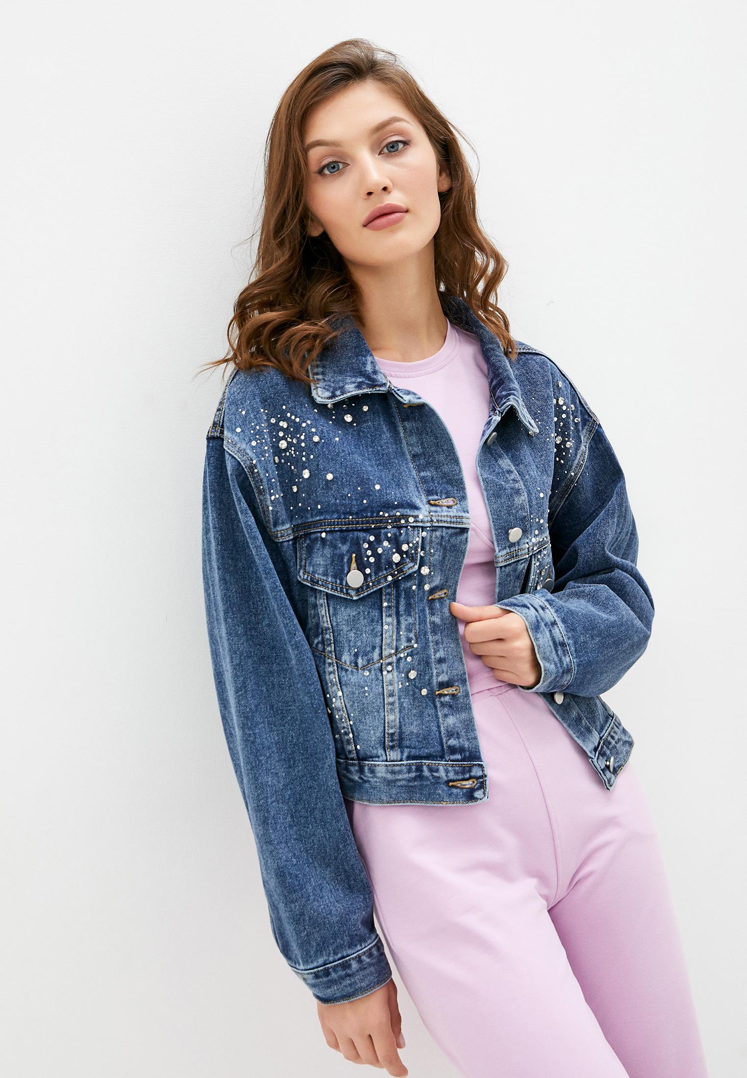 Джинсовая куртка TrendyAngel ТАO20O0021