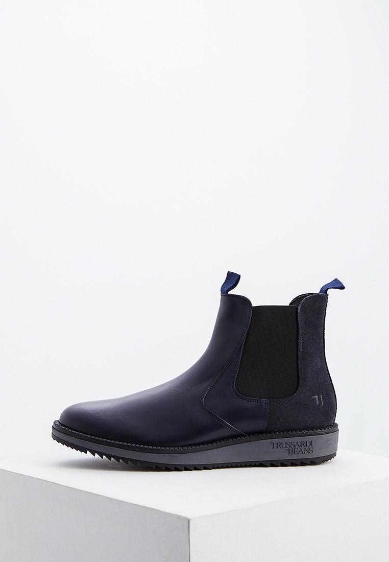 Мужские ботинки TRUSSARDI JEANS (Труссарди Джинс) 77a00203