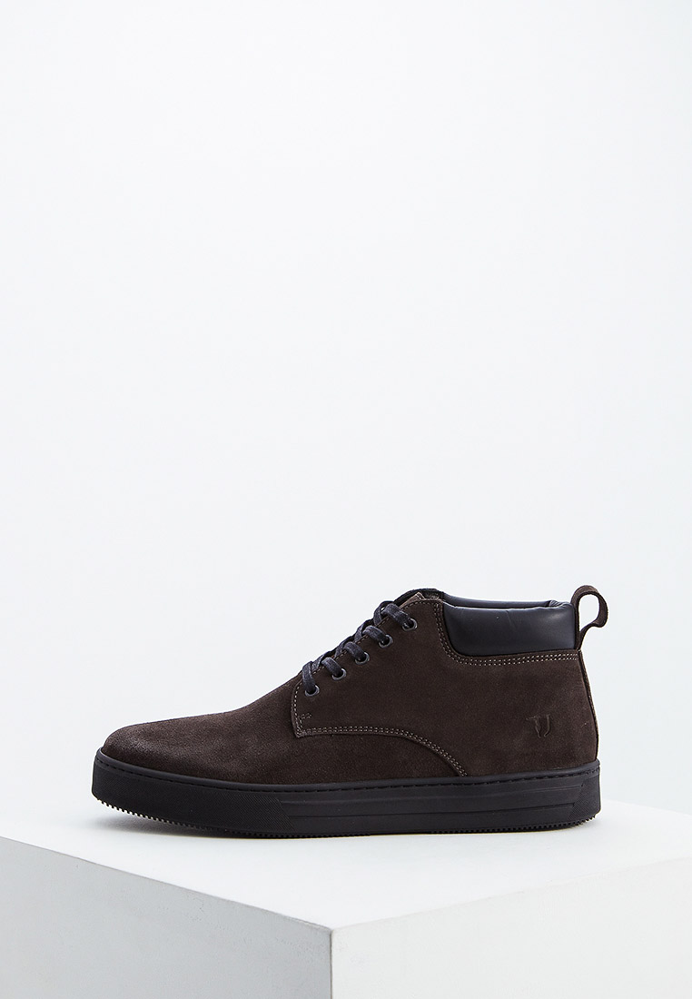 Мужские ботинки TRUSSARDI JEANS (Труссарди Джинс) 77a00205