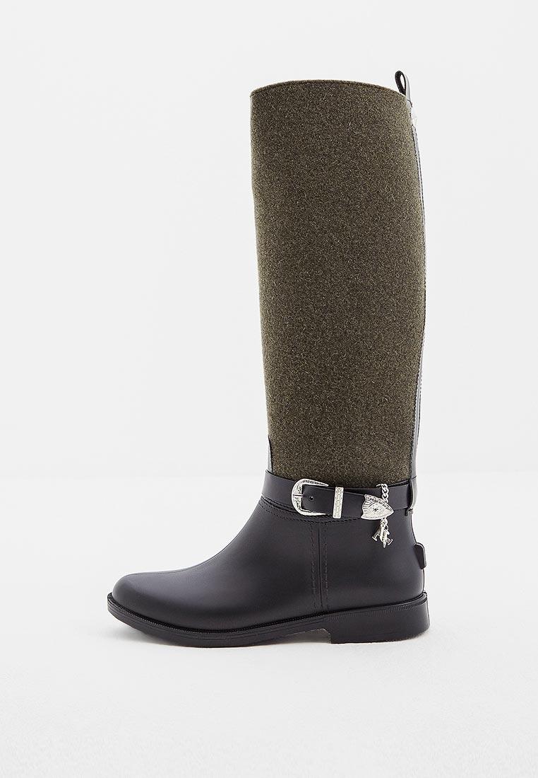 Женские резиновые сапоги Trussardi Jeans (Труссарди Джинс) 79a00287
